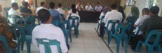 Rapat Persiapan HUT RI KE-74 di Kecamatan  Tenggulun